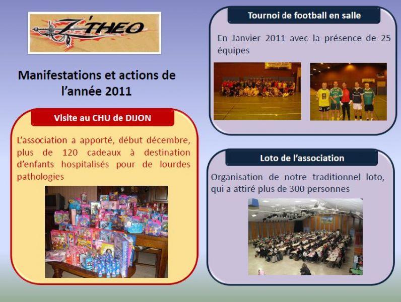 Actions de l'association en 2011 actions2011